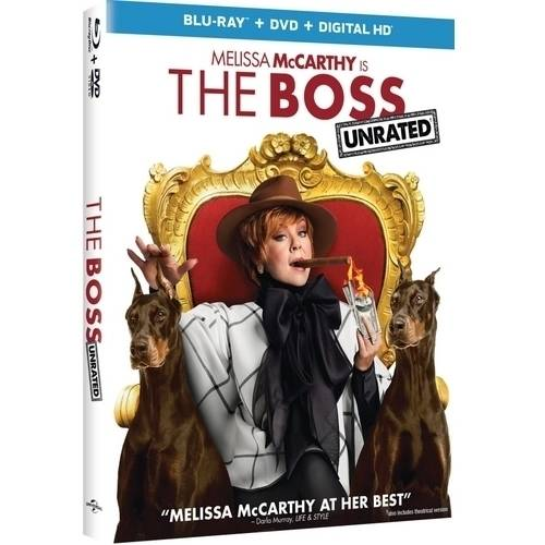 The Boss (Blu-ray + DVD + Digital HD) (With INSTAWATCH)