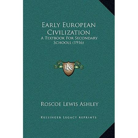 The Dawn of European Civilization, First Edition
