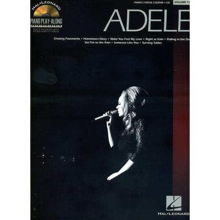 Hal Leonard Adele Piano Play Along Volume 118 Book Cd