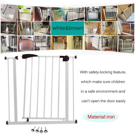 Regalo Extra Tall Extra Wide Baby Gate, 29''-52'' with Walk Through Door
