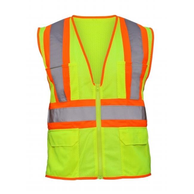 Corporation  Yellow Reflective Safety Vest, Extra-Large