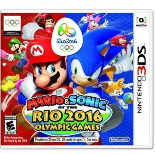 Nintendo Mario & Sonic At The Rio 2016 Olympic Games - Sports Game - Nintendo 3ds (ctrpbgxe)