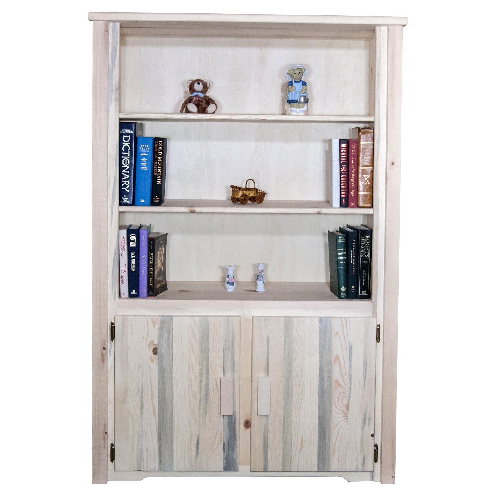 Montana Woodworks Homestead Bookcase with Storage