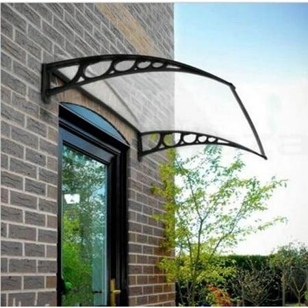Ktaxon DIY Window Front Door Awning Canopy Patio Rain Cover