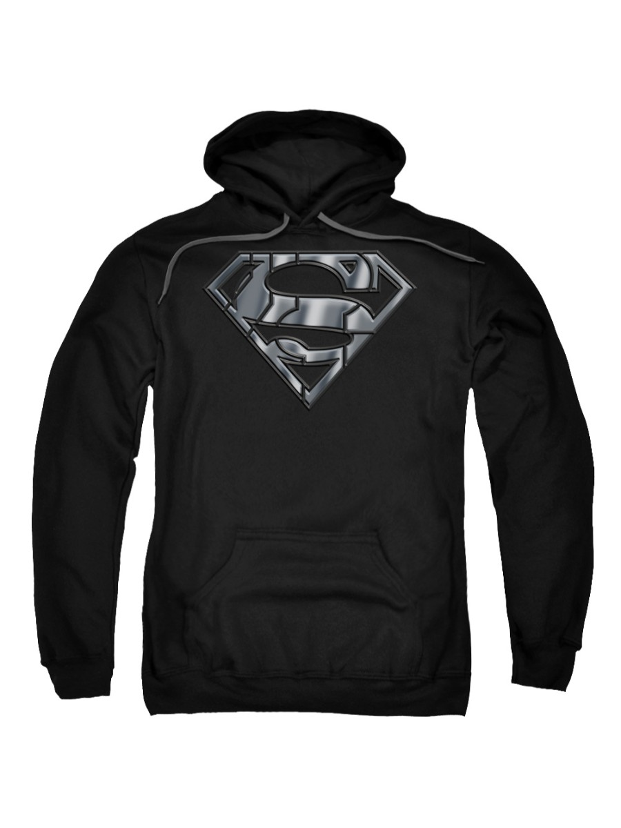 Superman DC Comics Mech Shield Adult Pull-Over Hoodie