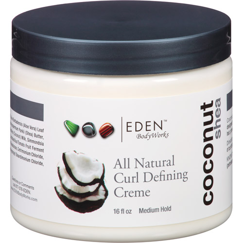 EDEN BodyWorks Coconut Shea All Natural Curl Defining Creme, 16 fl oz