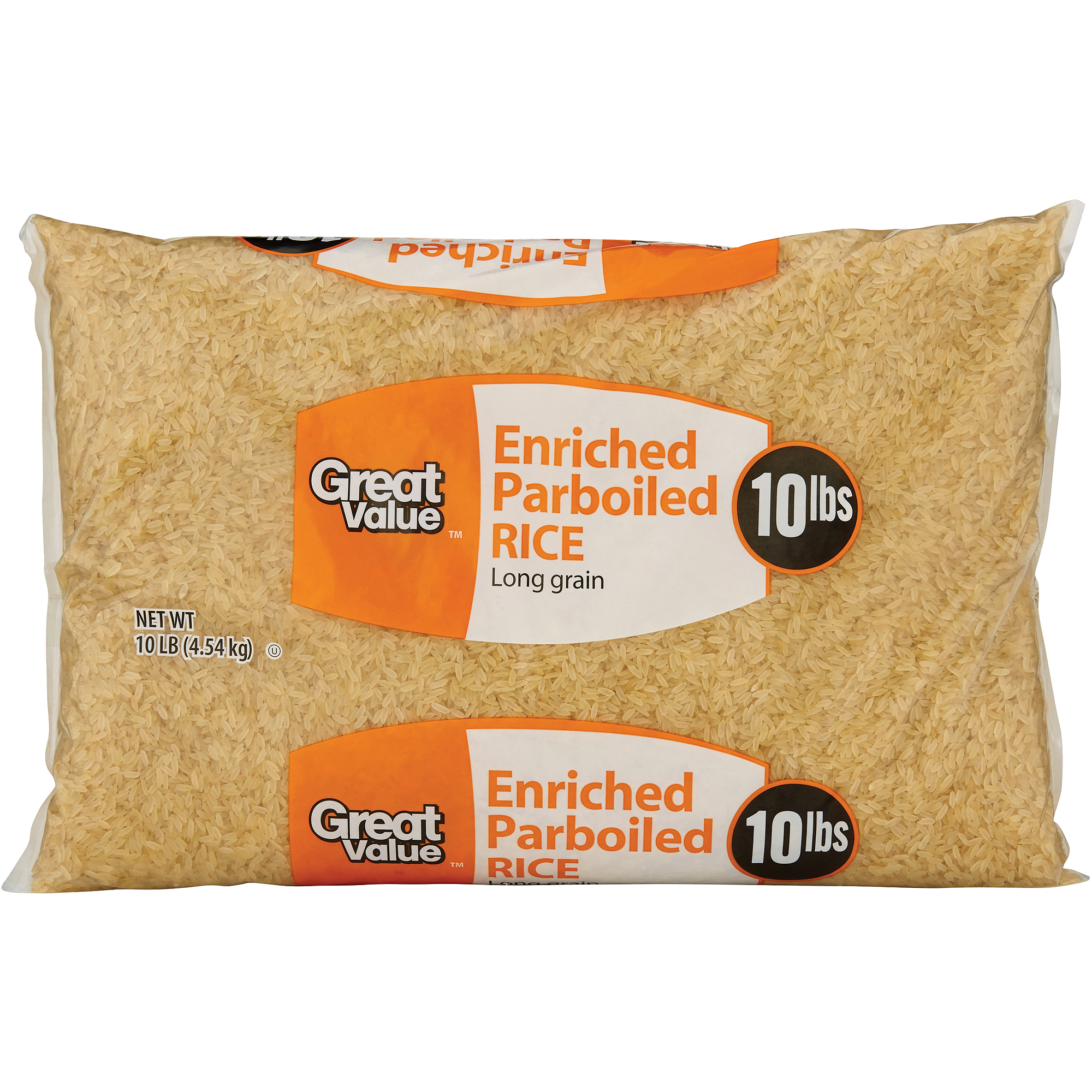 Great Value Parboiled Rice, 160 oz