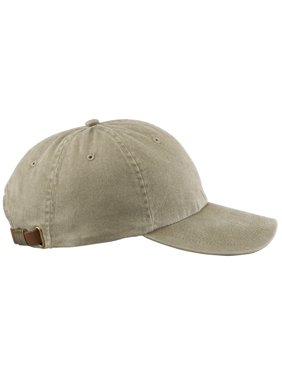 Adams 6-Panel Low Profile Cap, Khaki, One-Size