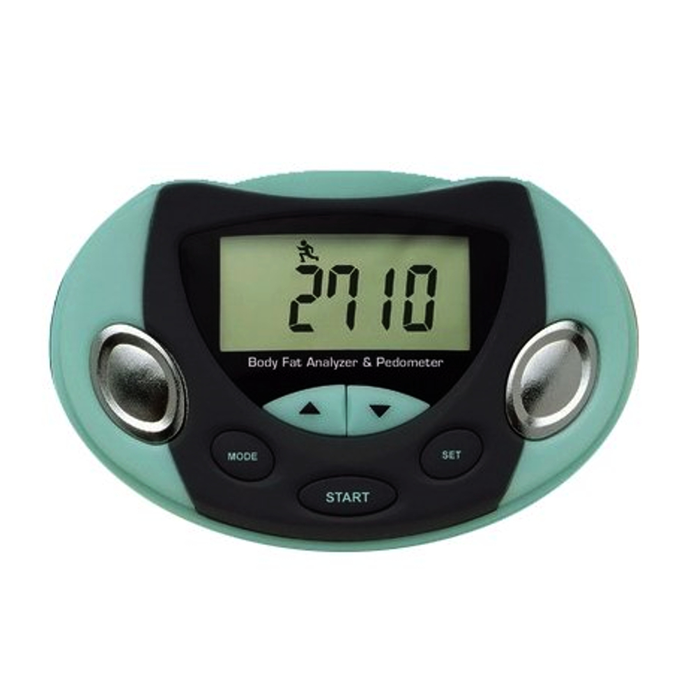 Body Fat Analyser And Pedometer Tracker Fitness Accessories