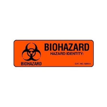 Shamrock Scientific Chemical Hazard Label   Sbh 4Rl   500 Each   Roll