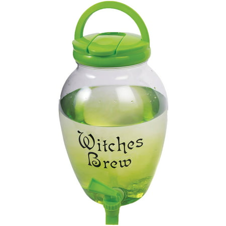 Witch's Drink Dispenser Halloween Decoration - Witches Cauldron Halloween Decoration