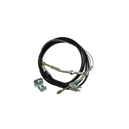 Eckler's Premier  Products 33373887 Camaro Emergency Brake Cable Kit For Disc Brake - Camaro Disc Brake Conversion