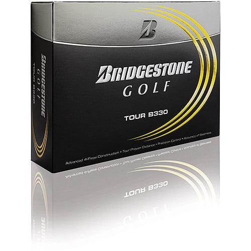 Bridgestone B330 Tour Golf Balls, 1 Dozen