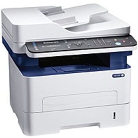 Xerox WorkCentre 3215/NI Laser Multifunction Printer - Monochrome - Copier/Fax/Printer/Scanner - 27 ppm Mono Print - 4800 x 600 dpi Print - Manual Duplex Print - 250 sheets Input - Fast ()