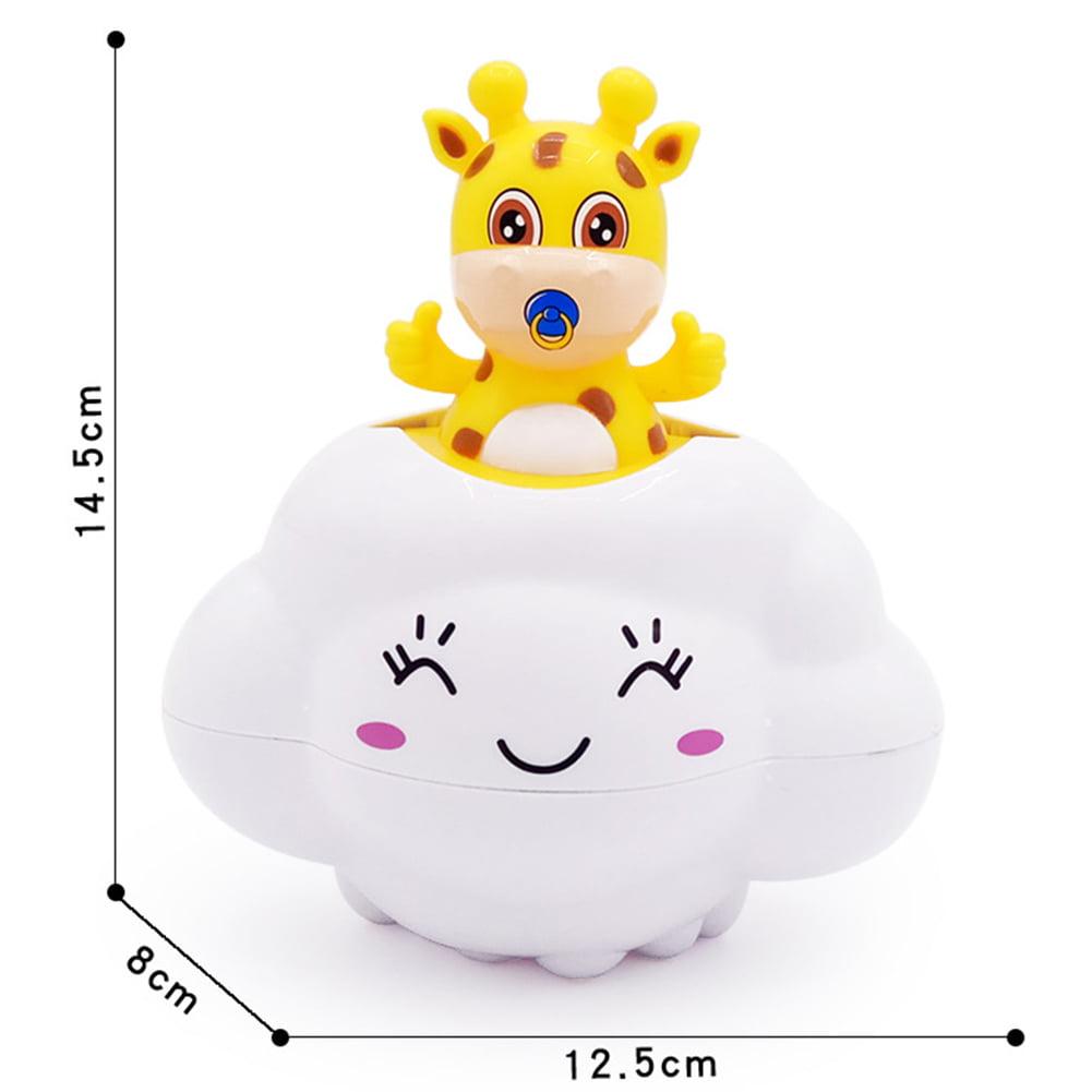 Children Bath Toy Baby Bathroom Play Water Make Rain Cloud Cartoon Deer Cute Creative Kid's Summer Beach Pool... by Redcolourful