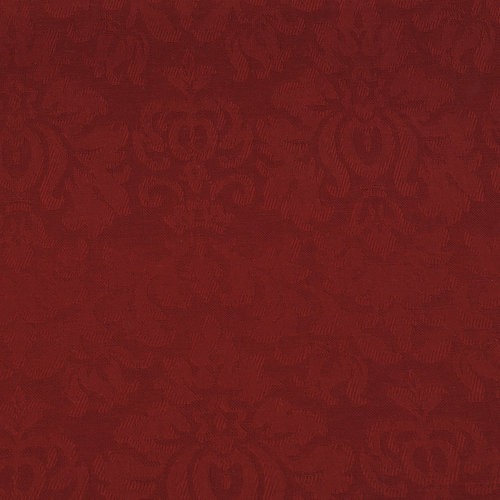 Cotton Jacquard Solid Color Scroll