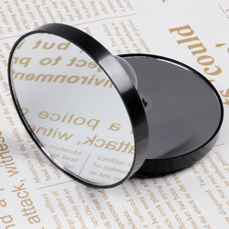 Mini Round Makeup Mirror 5X 10X 15X Magnifying Mirror With Two Suction Cups - image 5 of 10