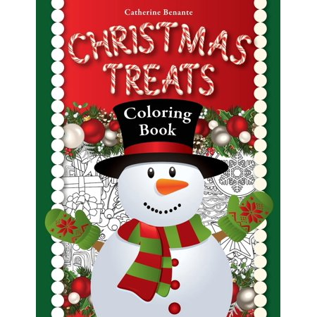 Christmas Treats A Holiday Coloring Book