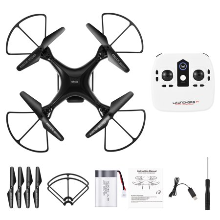 2.4GHz RC Quadcopter 6-axis Gyro Remote Control Drone Quadcopters-ALLCACA with Altitude Hold Mode, 3D Flip, Headless Mode and One-key Return (without