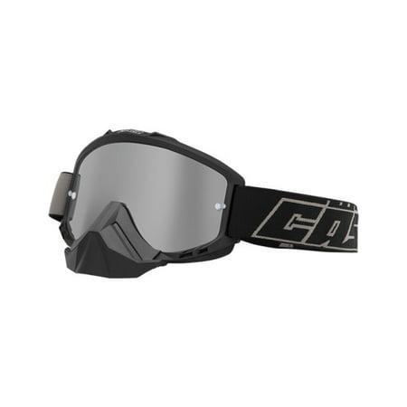 Castle Force Mx Offroad Goggles Matte Black