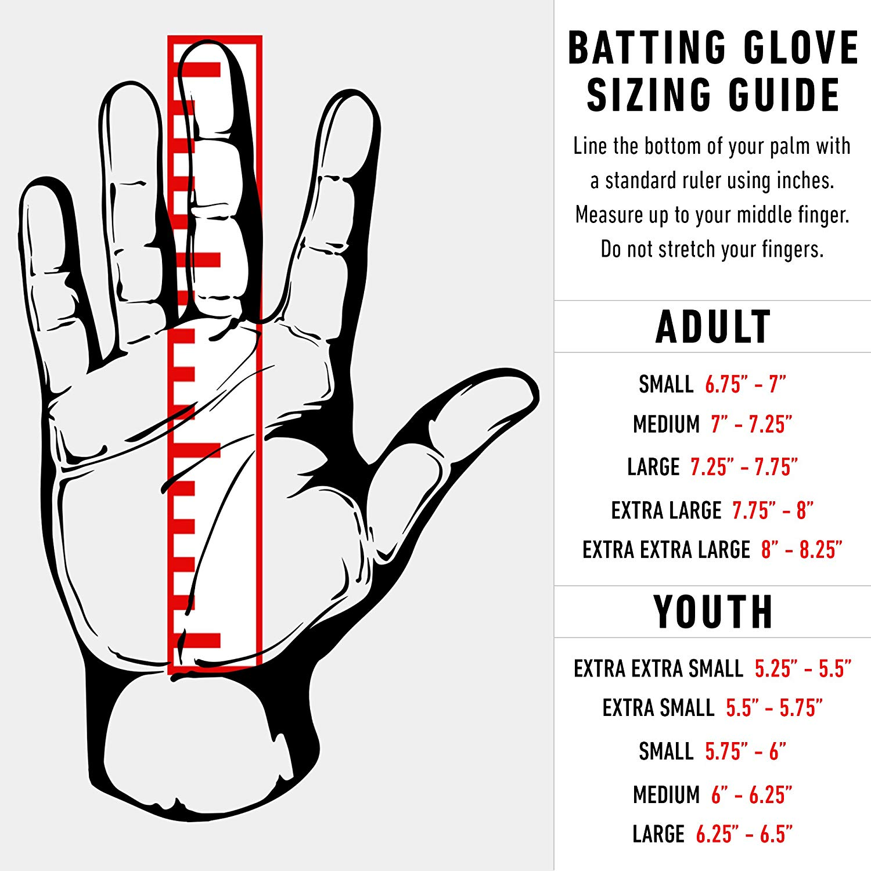 Franklin Sports Mlb Cfx Pro Baseball Batting Gloves Pearl Black Adult Large Walmart Com Walmart Com