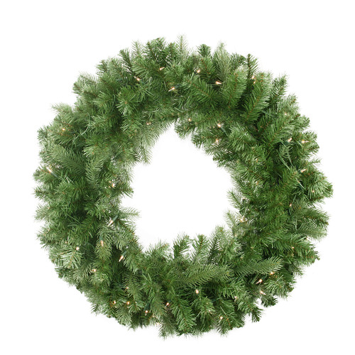 Northlight Seasonal 30'' Lighted Noble Fir Christmas Wreath