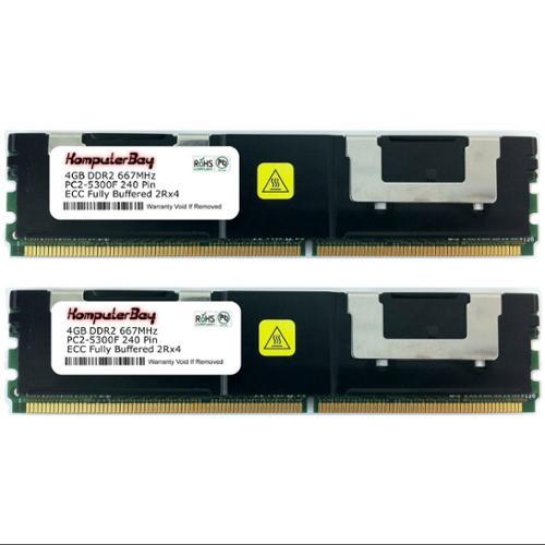 Komputerbay 8 GB Memory Module 8 Dual Channel Kit DDR2 66...