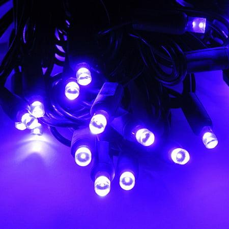 Purple Heart String Lights : LED String Lights - Polka Dot Wide Angle - Purple - Walmart.com