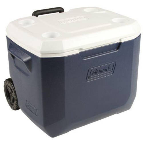 Click here to buy Coleman Xtreme 50-Quart Wheeled Cooler by COLEMAN.