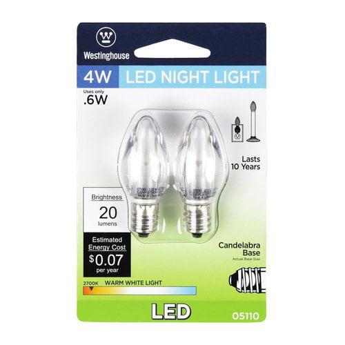 Westinghouse Lighting E12/Candelabra LED Light Bulb Pack of 2