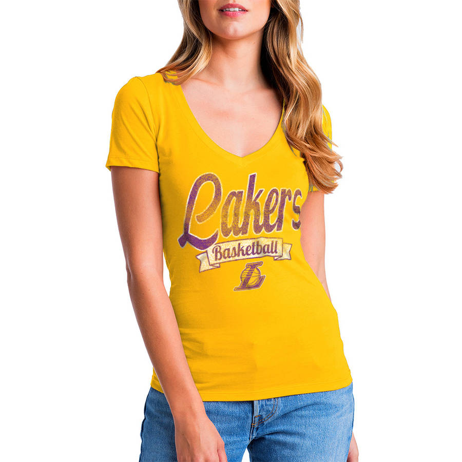 NBA Los Angeles Lakers Women's Short Sleeve Graphic Tee