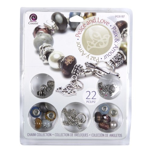 Cousin Peace And Love Jewelry Kit