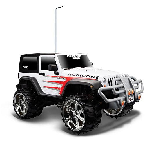 Maisto Tech Rc Off Road 1:16 Jeep Wrangler Rubicon
