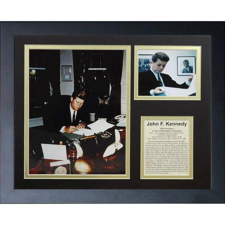 Legends Never Die John F. Kennedy II Framed Memorabilia ()