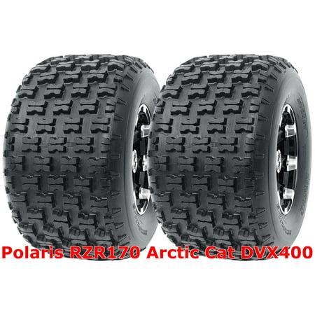 Polaris RZR170 Arctic Cat DVX400 Set 2 Rear 20x10-9 20x10x9 Sport ATV (Best Tires For 20x10 Rims)