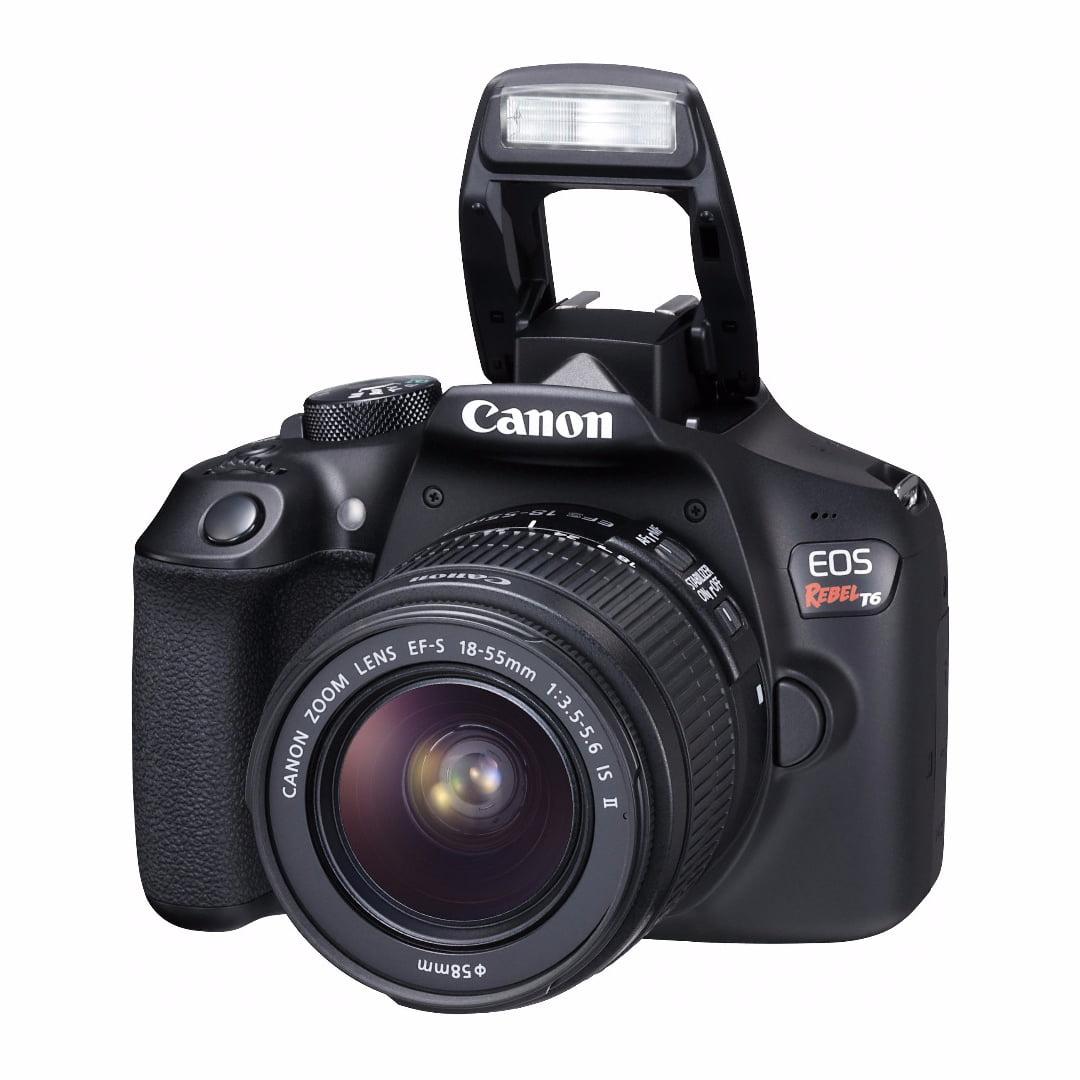 Canon EOS Rebel T6 18.0 MP DSLR Camera w/ 18-55mm ; 75-300mm