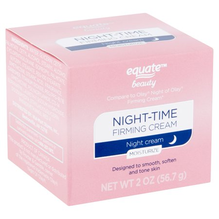 Equate Beauty Night-Time Firming Cream, 2 oz (Best Upper Eyelid Firming Cream)