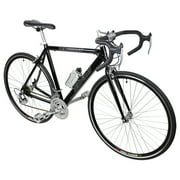 Black 21 Speed Aluminum Road Bike Racing Bicycle 54cm 700c Shimano Parts
