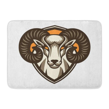 Godpok Bighorn Horned Goat Sport Mascot Aggression Angry