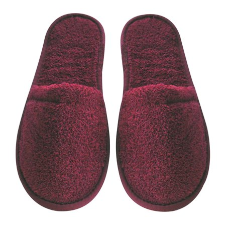 Women's Turkish Terry Cotton Bath Spa Slippers Boston Red Sox Mlb Slippers