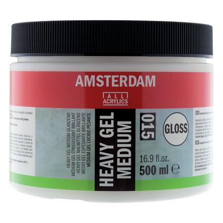 Amsterdam Acrylic Heavy Gel Medium, 500ml, Gloss