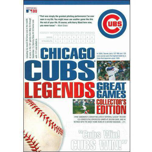 Chicago Cubs Legends: Great Games (Collector's Edition)