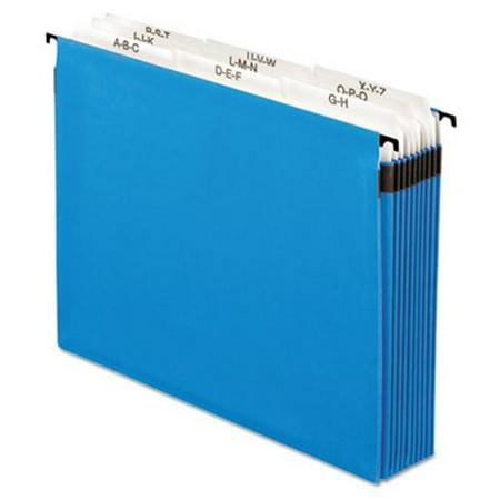 "Pendaflex 3-1/2"" Expansion Hanging File, Tabs & Labels, Nine Sections (PFX59225)"
