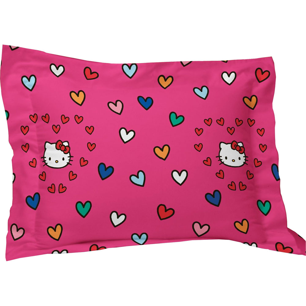 Hello Kitty Pillow Sham Sanrio Free Time Bedding Pillow Cover