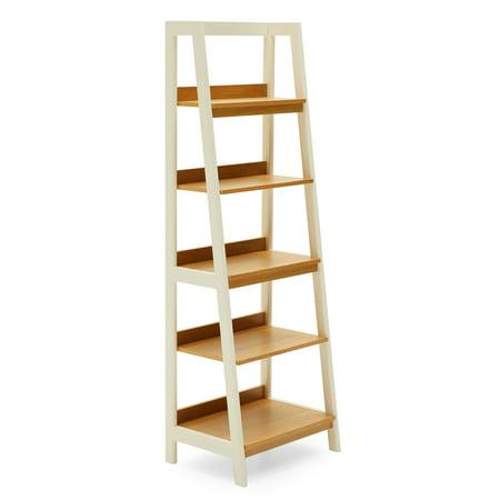 MoDRN Scandinavian Finna Ladder Bookcase ()