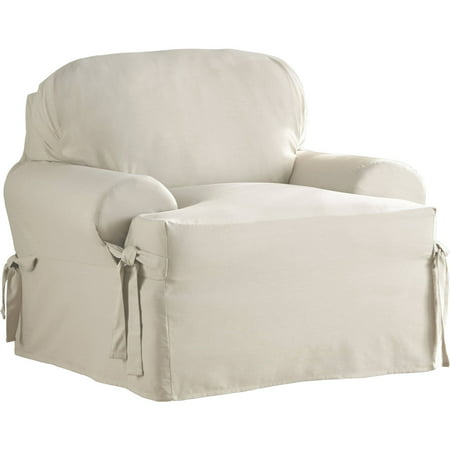 Serta Relaxed Fit Duck Furniture Slipcover Chair 1 Piece T Cushion