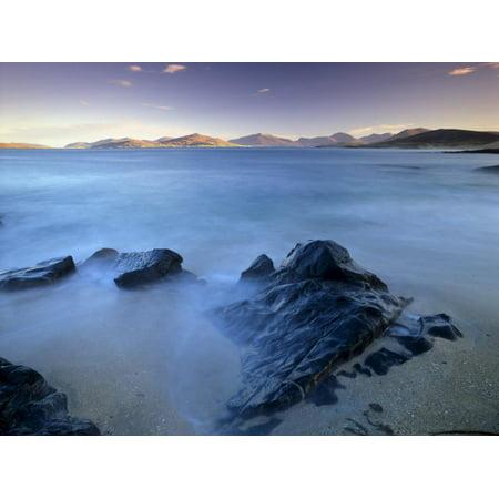 Rock and Sea, Sound of Taransay, South Harris, Outer Hebrides, Scotland, United Kingdom, Europe Print Wall Art By Patrick Dieudonne](Lee Patrick Harris)