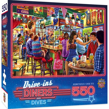 MasterPieces Drive-Ins, Diners & Dives - Duffy's Sports & Suds 550 Piece