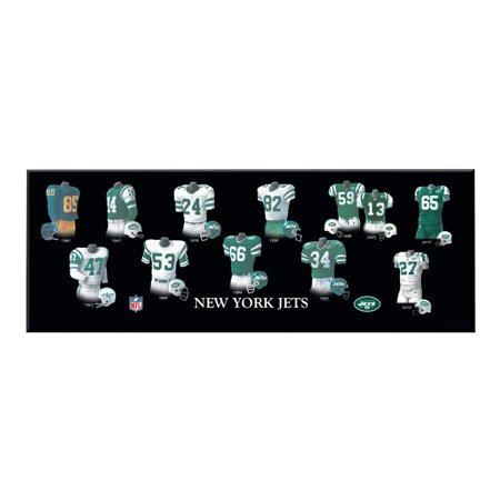 Nfl Zippo New York Jets - Winning Streak - NFL Uniform Plaque, New York Jets