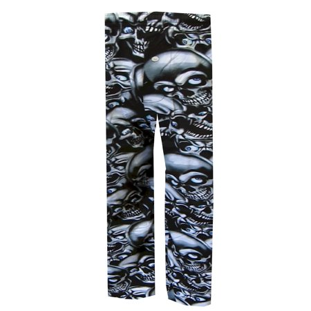 Skulls Lounge Pants (Creepy Skulls Lounge Pants)